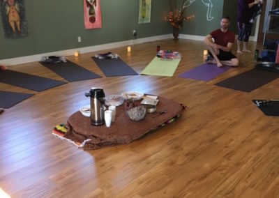 Yoga and cacao