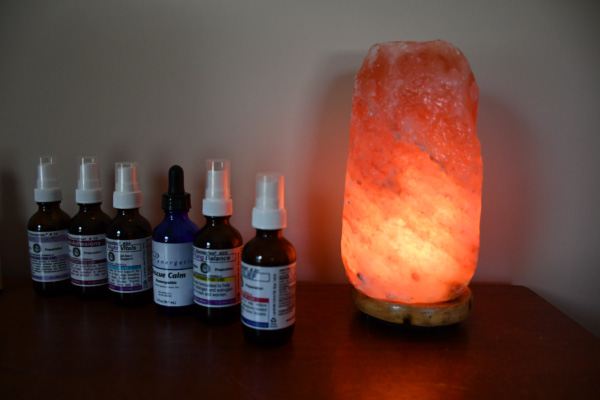 Salt Lamp and Oils